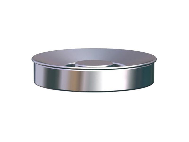 Stainless steel ashtray NOX | Ashtray by REXITE