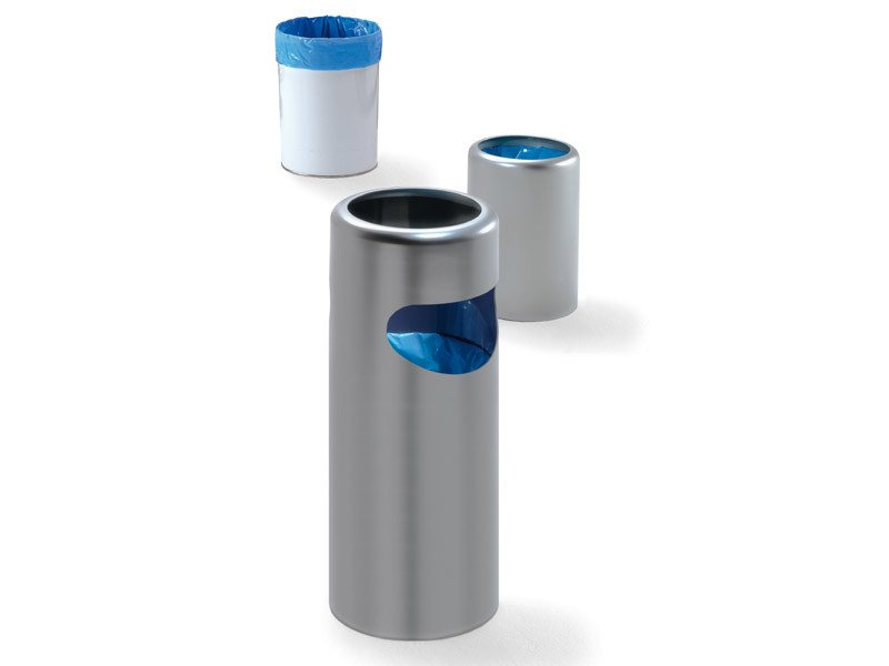 Technopolymer waste paper bin BIRILLO PLUS by REXITE