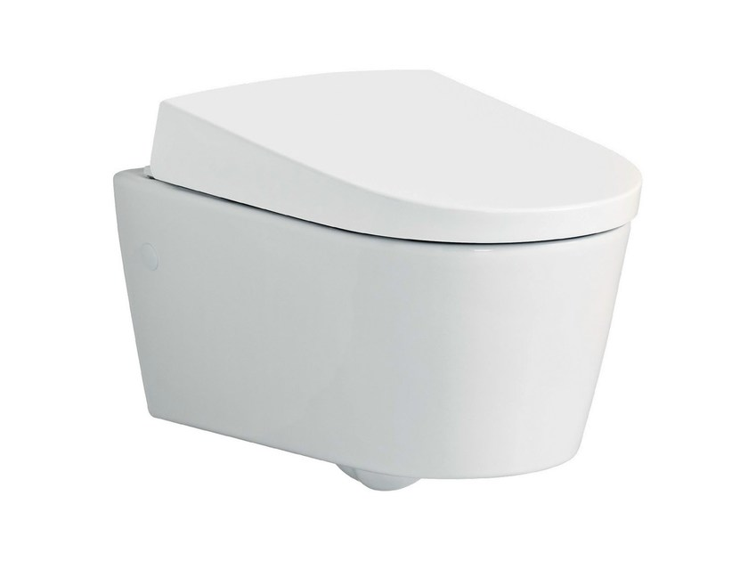 Wall-hung toilet with bidet AquaClean Sela by Geberit Italia