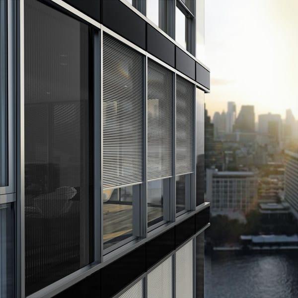 Continuous facade system Schüco E² by Schüco