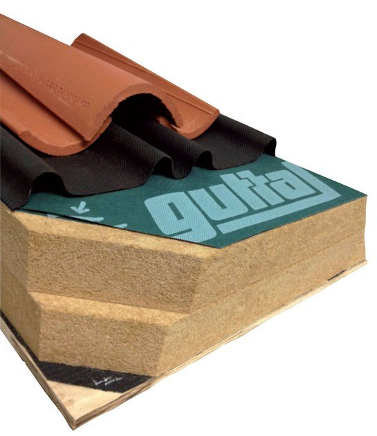 Ventilated roof system ROOF SYSTEM by GUTTA ITALIA