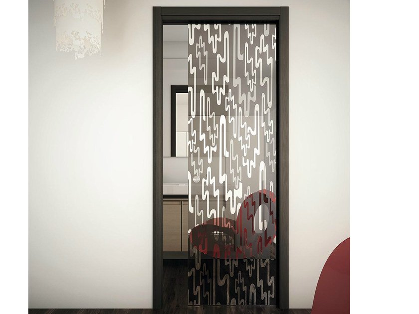 Pocket sliding door SINTHESY LIGHT by FOA