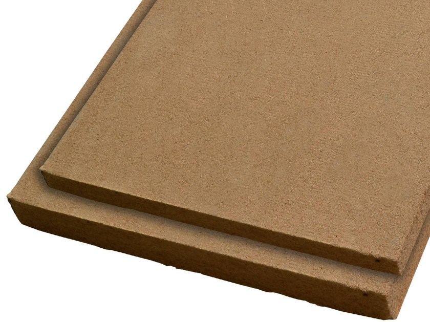 Wood fibre thermal insulation panel GUTTATERMIC® BIO by GUTTA ITALIA