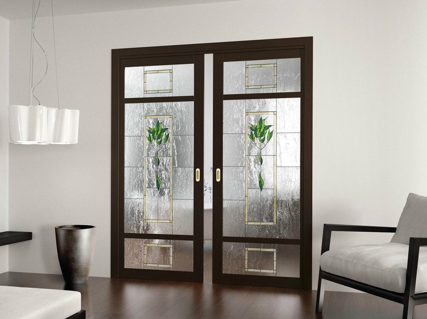 Pocket sliding door AMANDA by FOA