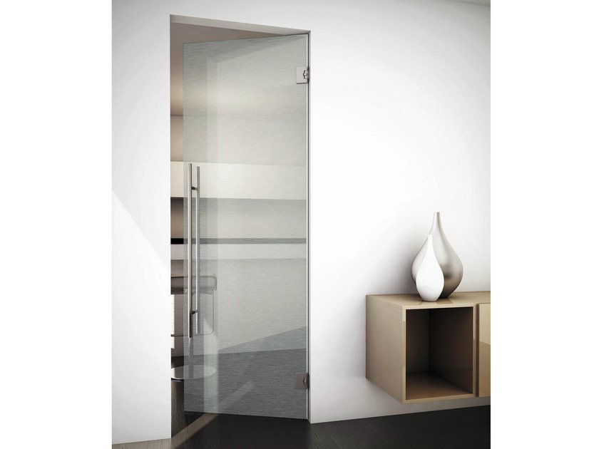 Double-acting door SINTHESY SLIVER V3/MF by FOA