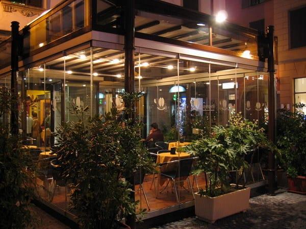 GIEMME SYSTEM® - Giemme Business chiusura dehor per bar