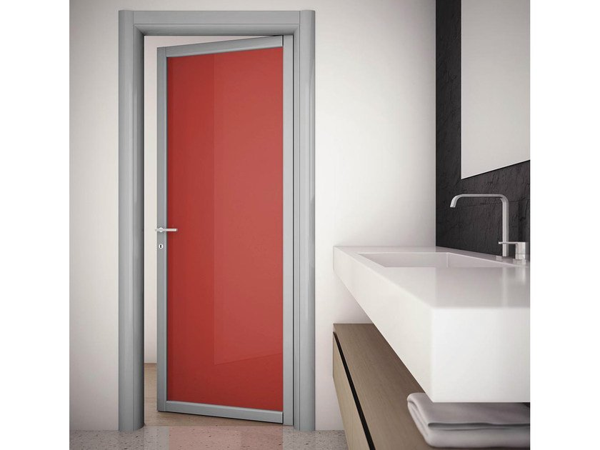 Swing door SLIM R1 by FOA