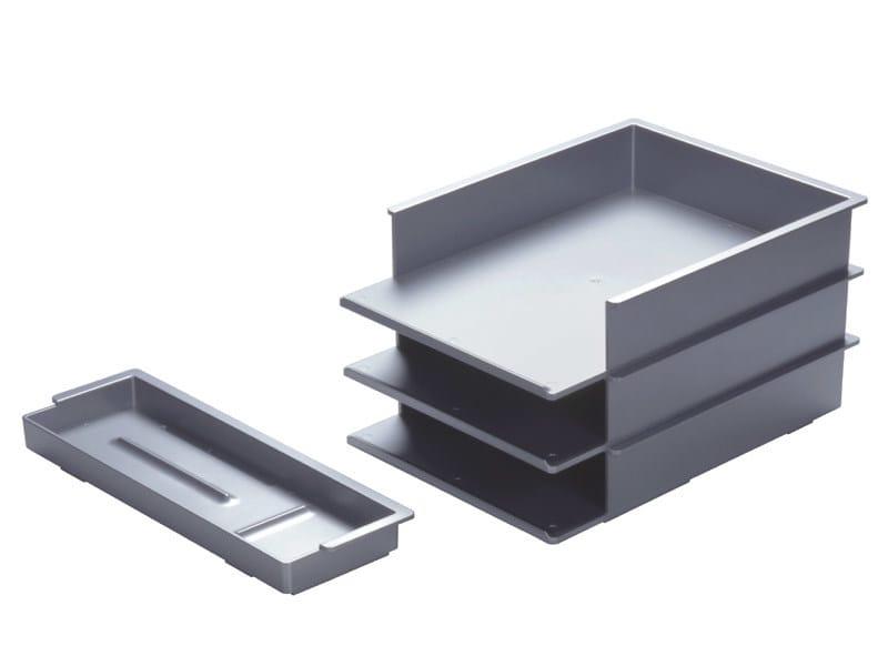 Technopolymer desk set STANDARD WALL by REXITE