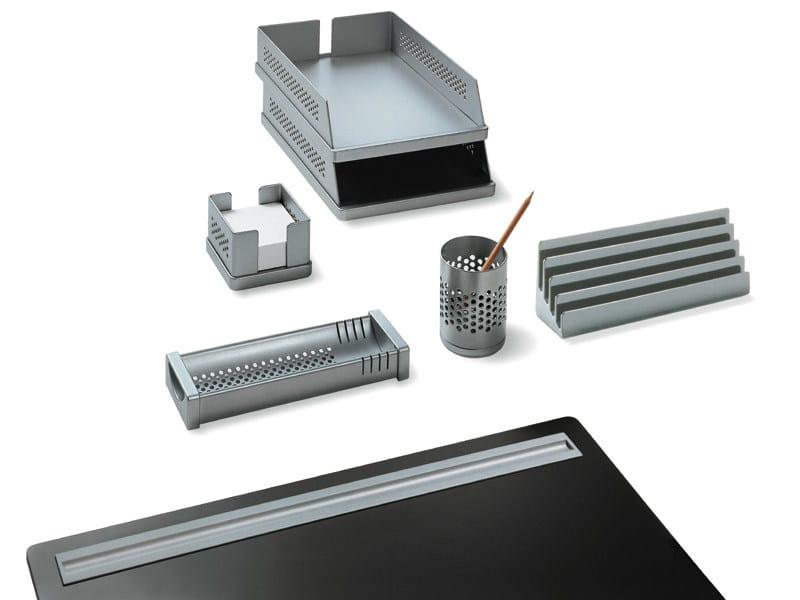 Technopolymer desk set BABELE by REXITE