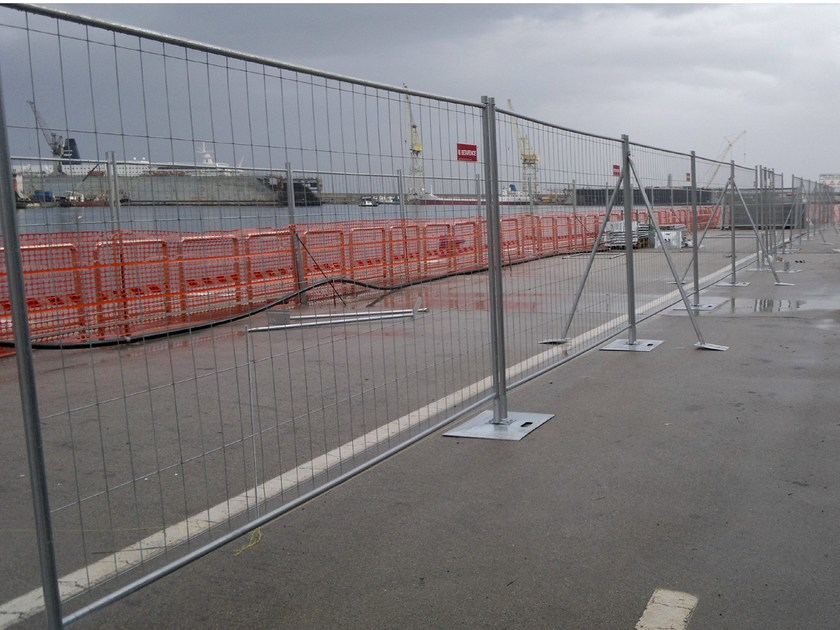 Construction site temporary and mobile fencing TEMPOFOR® F2 by BETAFENCE ITALIA