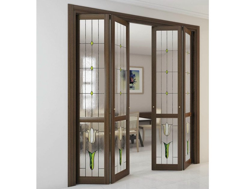 Double-wing centre split folding door ALESSANDRA by FOA
