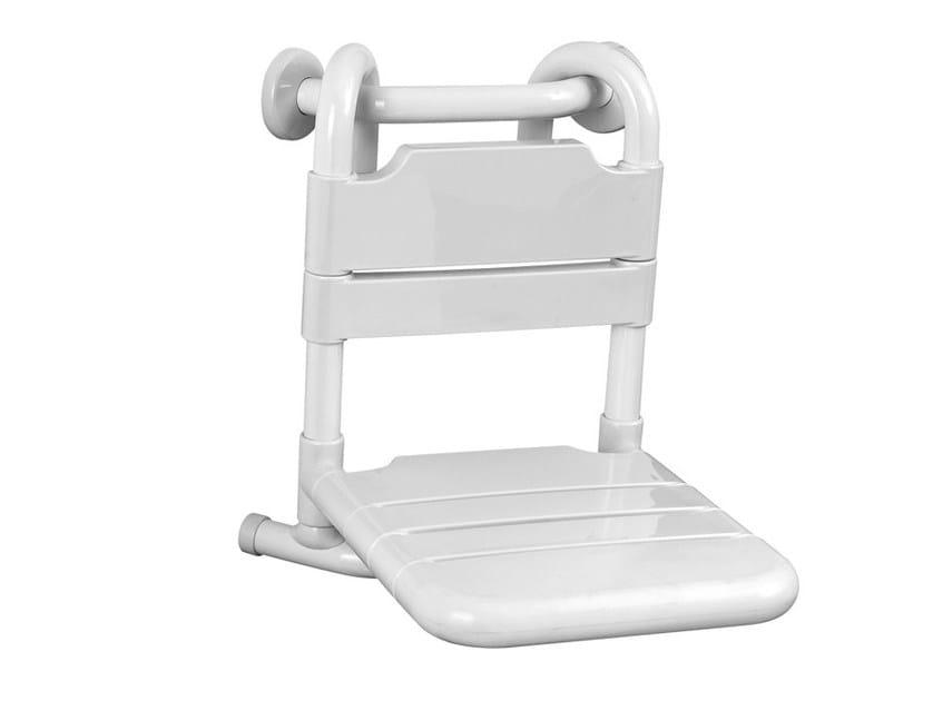 Sedile doccia rimovibile in acciaio zincato TUBOCOLOR | Sedile doccia rimovibile by Ponte Giulio