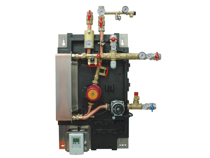 Booster unit with integrated solar heat exchanger GP 9000HX by IVAR