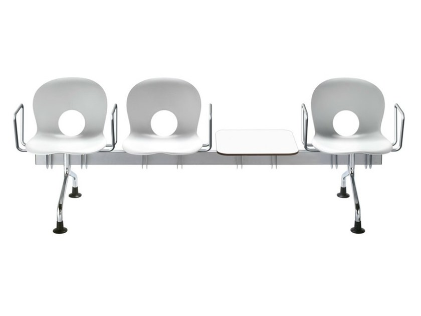 Beam seating with armrests OLIVIA | Beam seating by REXITE