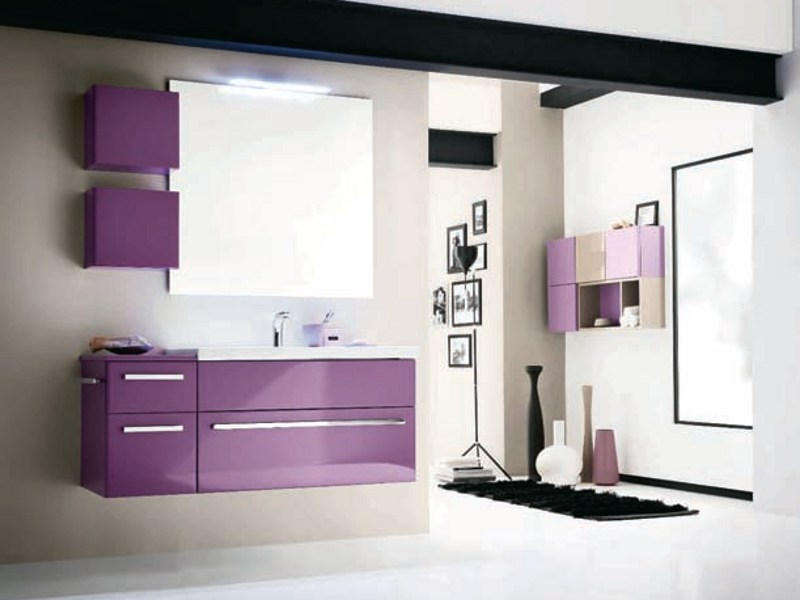 Bathroom furniture set AB 907 by RAB Arredobagno