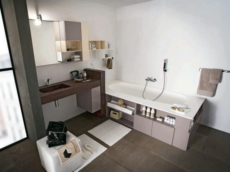 Bathroom furniture set AB 910 by RAB Arredobagno
