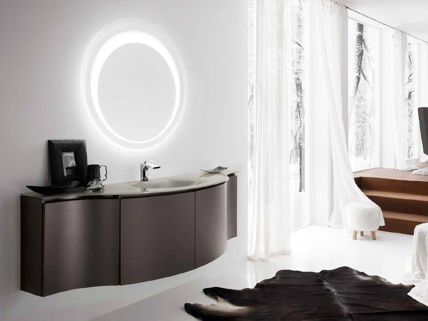 Single vanity unit with doors 57 by RAB Arredobagno