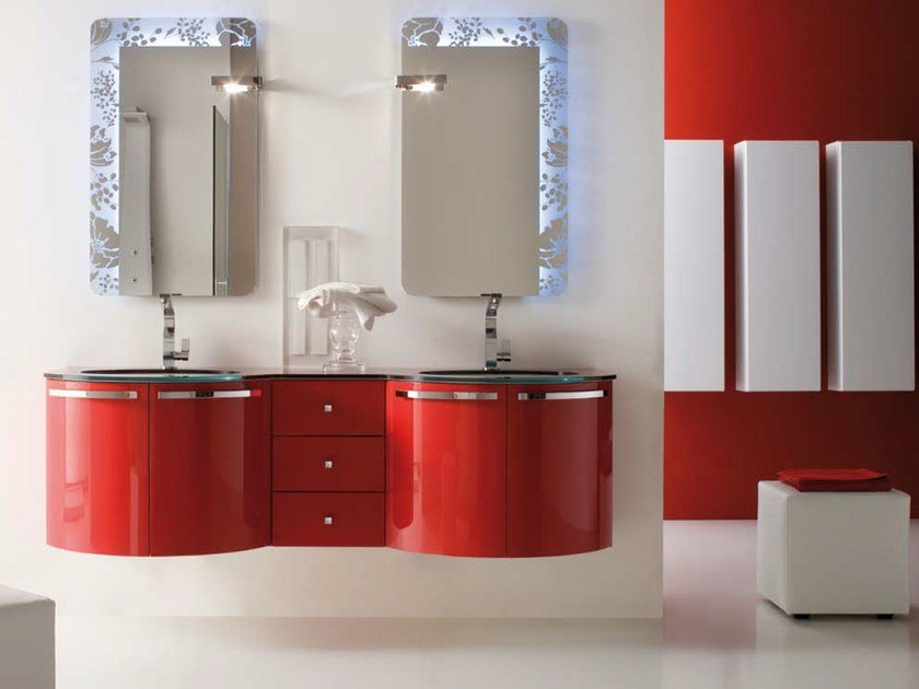 Bathroom furniture set AB 218 by RAB Arredobagno