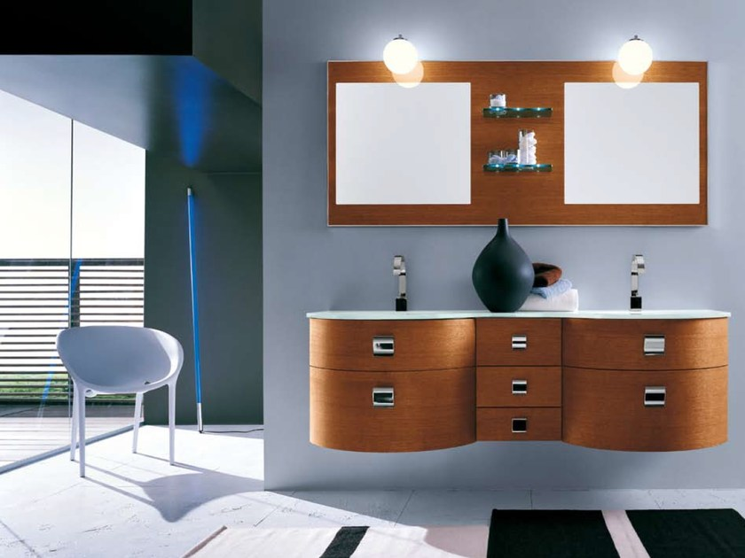 Bathroom furniture set AB 501 by RAB Arredobagno