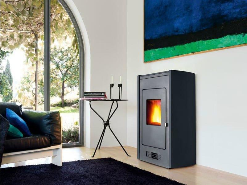 Pellet faïence stove P951 | Pellet stove by Piazzetta