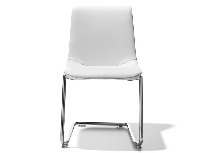Cantilever stackable chair DS-718 by de Sede