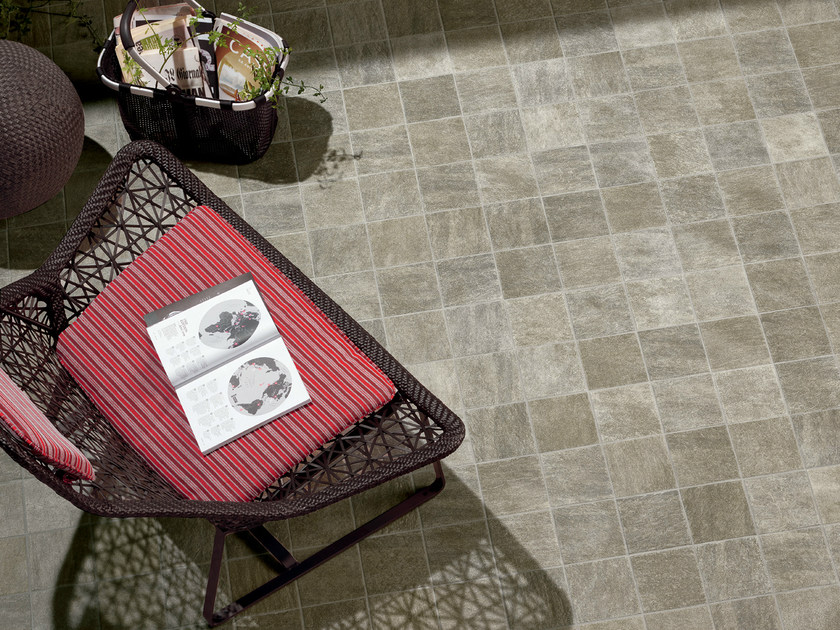 Porcelain stoneware outdoor floor tiles ALPI STELVIO by CERAMICHE KEOPE