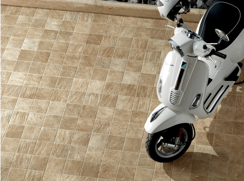 Porcelain stoneware outdoor floor tiles ALPI TONALE by CERAMICHE KEOPE