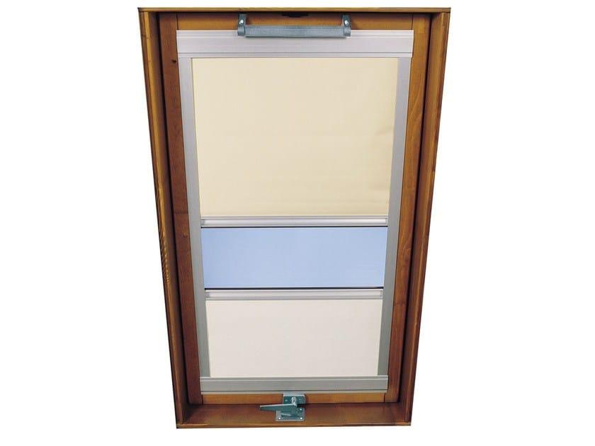 Tenda per finestre da tetto in tessuto tecnico luxin for Tenda finestra tetto