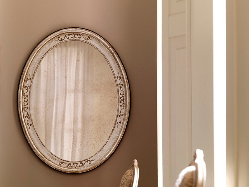 Oval wall-mounted mirror 3570 | Mirror by Grifoni Silvano