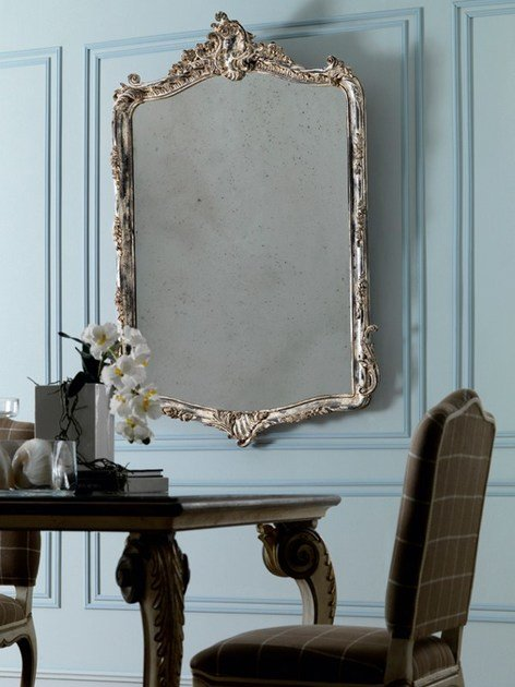 Classic style framed mirror 3632 | Mirror by Grifoni Silvano