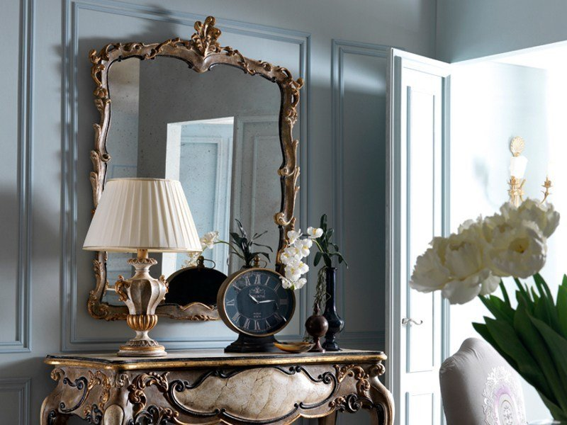 Classic style wall-mounted mirror 2479 | Mirror by Grifoni Silvano