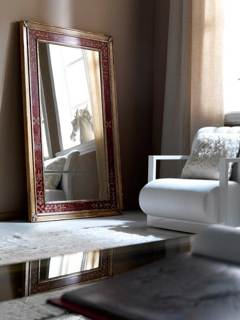 Classic style freestanding mirror 2475 | Mirror by Grifoni Silvano