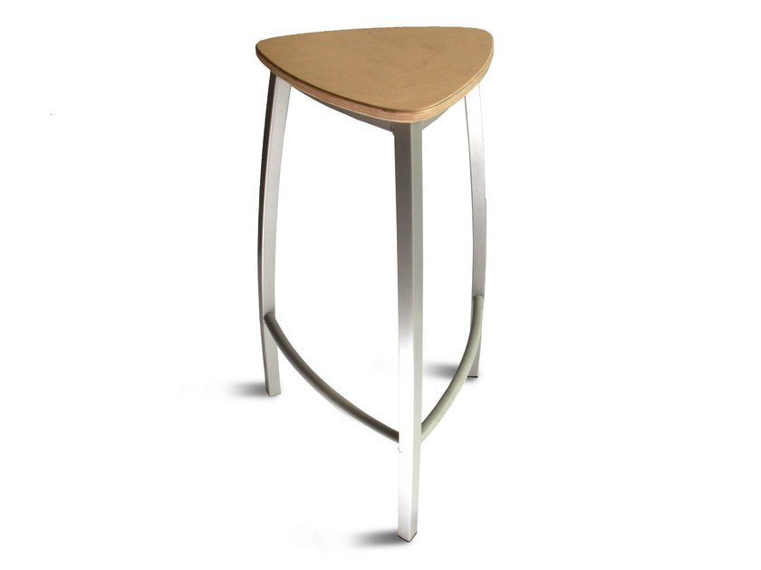 High stool with footrest DELTA | Stool by Collection Maison