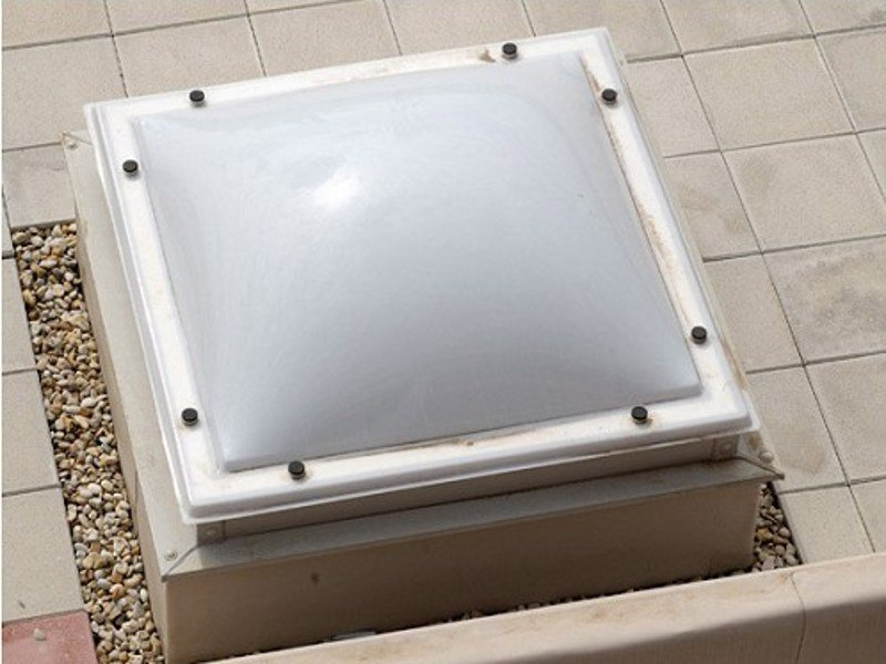 Dome rooflight LQ by LUXIN