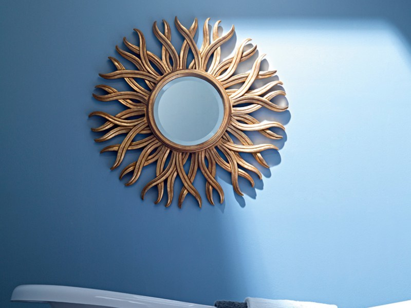 Framed mirror 1720 | Mirror by Grifoni Silvano