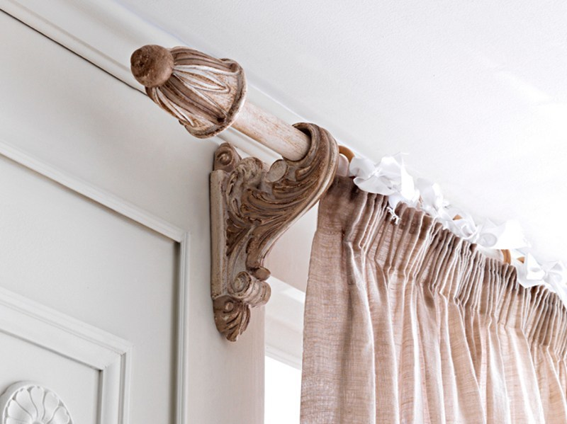 Classic style curtain rod 56 | Curtain rod by Grifoni Silvano
