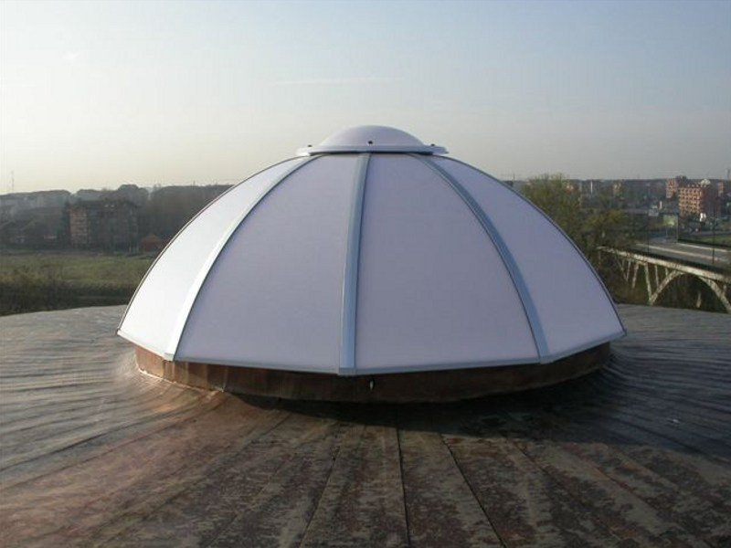 Dome rooflight LC by LUXIN
