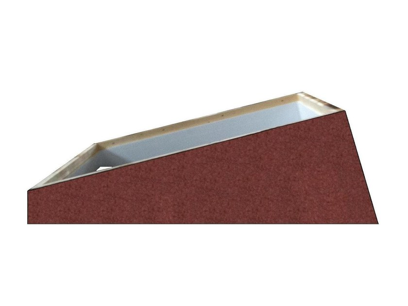 Base and accessory for rooflight Rialzo per tetti piani by LUXIN