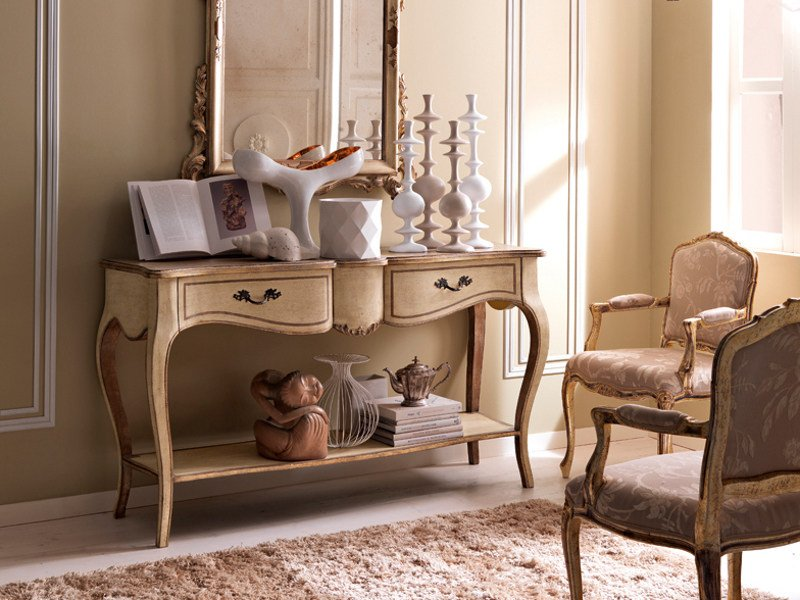 Classic style rectangular console table 3625 | Console table by Grifoni Silvano