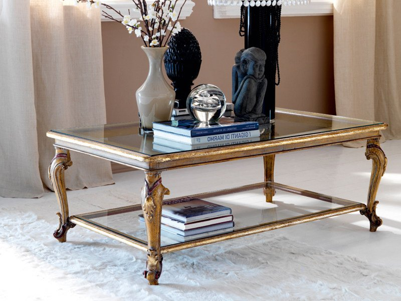 Classic style low coffee table 3621 | Coffee table by Grifoni Silvano