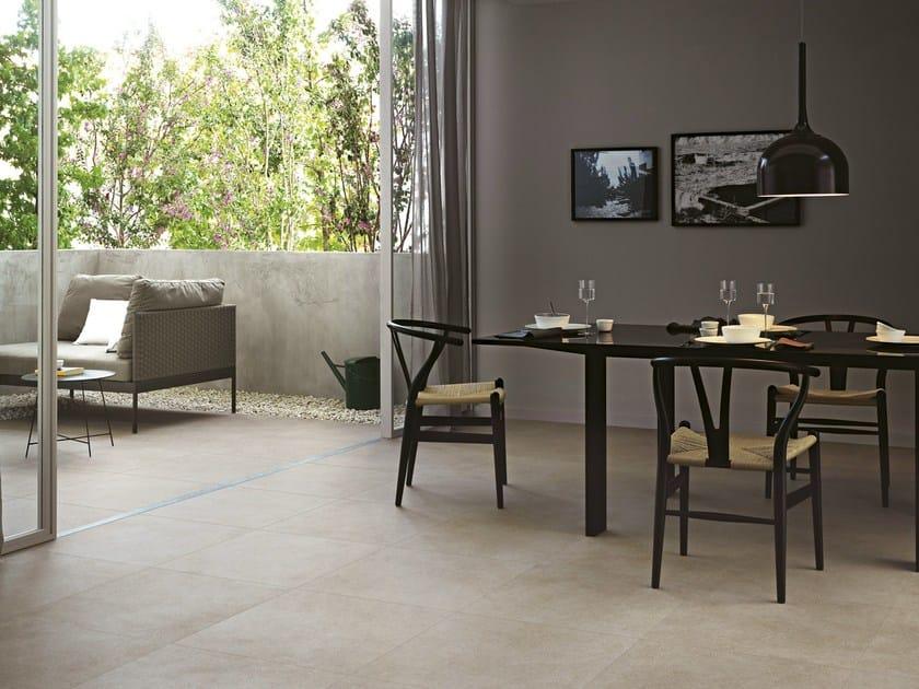 Indoor/outdoor porcelain stoneware flooring LANDSCAPE by Ragno