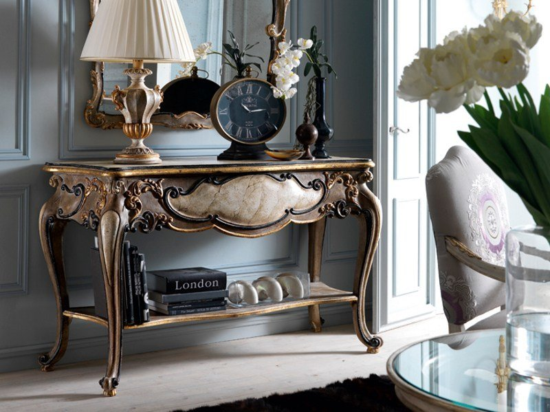 Classic style wooden console table 2480 | Console table by Grifoni Silvano