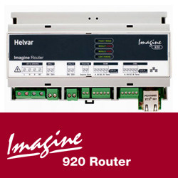 Automation component and system Router IMAGINE 920 by HELVAR