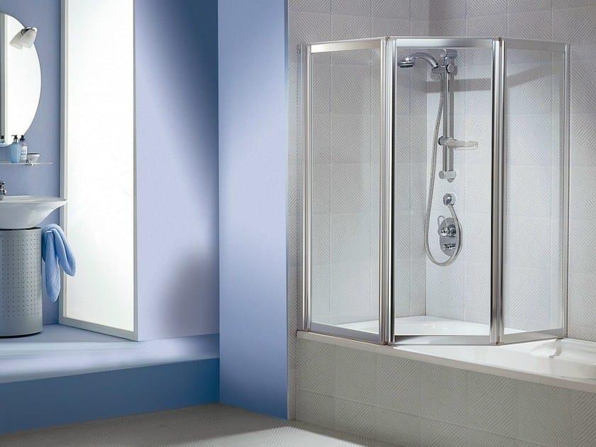MULTI 3000 GLASS Parete per vasca in cristallo