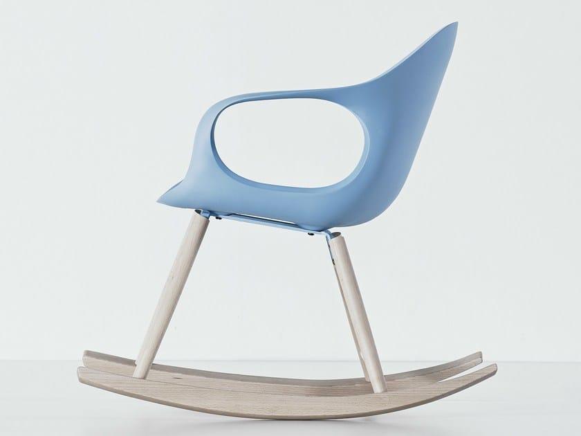 Rocking polyurethane chair ELEPHANT ROCKING | Polyurethane chair by Kristalia