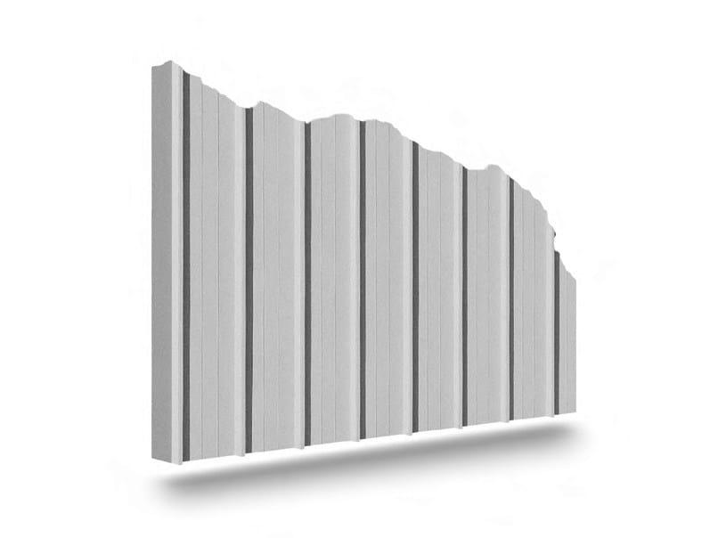 LINEAR 2 Matrice per parete facciavista in calcestruzzo