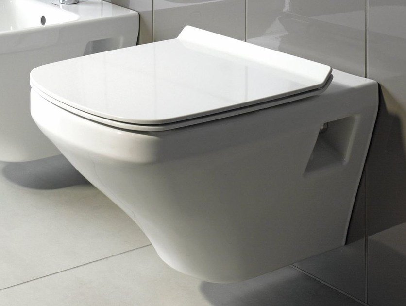 DURASTYLE | Wall-hung toilet By Duravit design Matteo Thun & Partners