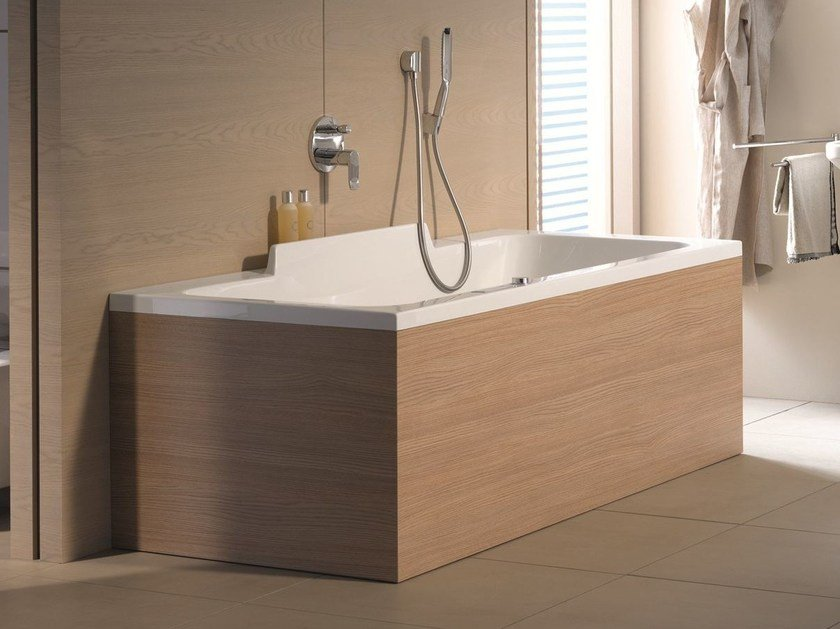 Whirlpool bathtub DURASTYLE | Bathtub by Duravit