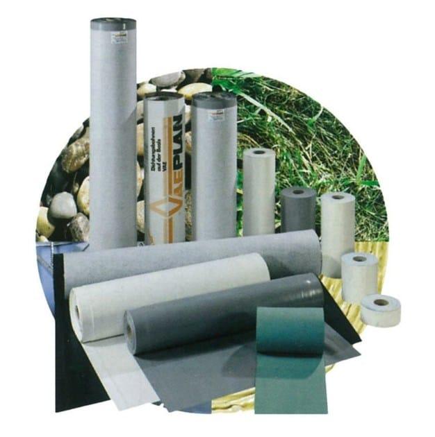 Prefabricated polymer membrane VAEPLAN F by Derbigum