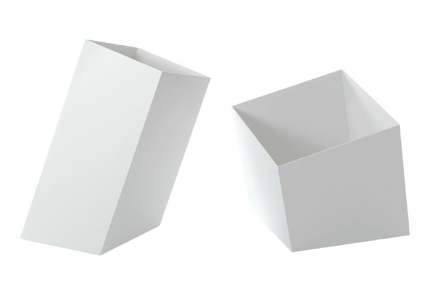 Steel storage box SQUARE BASKETS by Specimen Editions